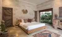 Villa Massilia Tiga Bedroom with Lamps   Seminyak, Bali
