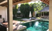 Villa Massilia Tiga Pool with Wooden Deck   Seminyak, Bali
