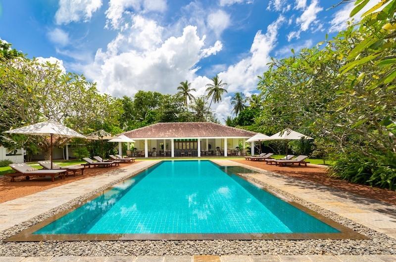 Rock Villa Pool Area | Bentota, Sri Lanka