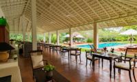 Rock Villa Dining Area | Bentota, Sri Lanka
