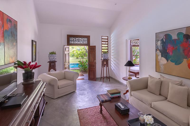Rock Villa Pool Suite Living Area | Bentota, Sri Lanka