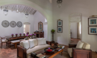 Rock Villa Walauwa Suite Living Room | Bentota, Sri Lanka