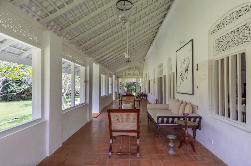 Rock Villa Walauwa Suite Seating | Bentota, Sri Lanka