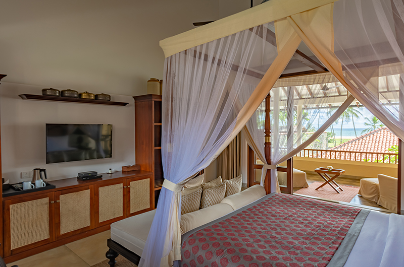 The Long House Bentota Premiere Bedroom with TV | Bentota, Sri Lanka