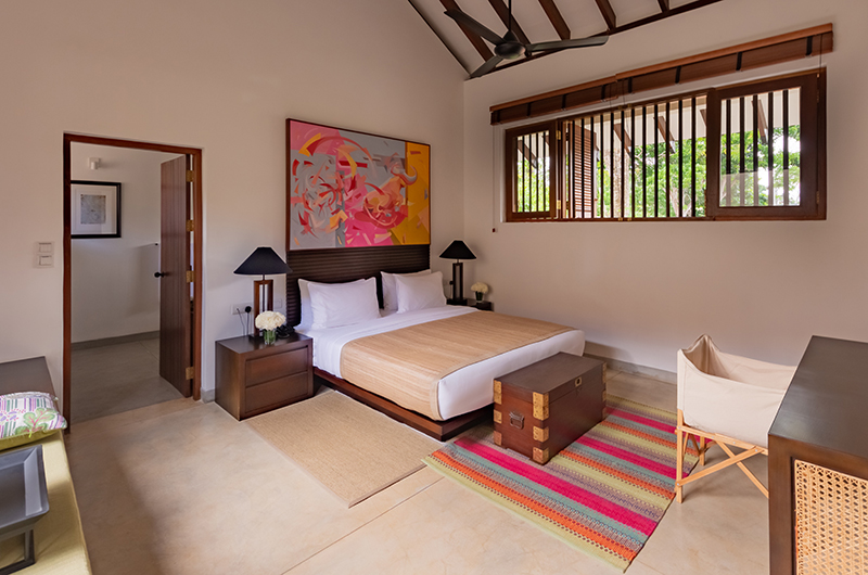 The Long House Bentota Family Suite Bedroom Area | Bentota, Sri Lanka