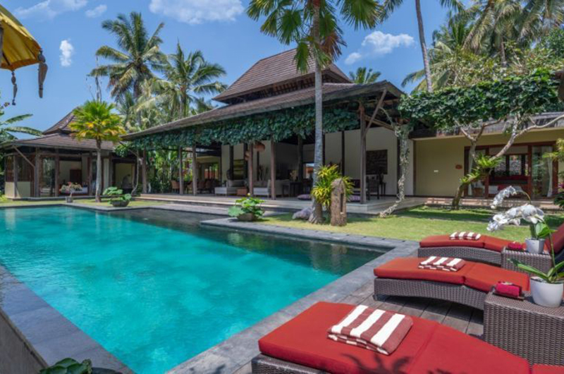Villa Crystal Castle Swimming Pool | Ubud, Bali