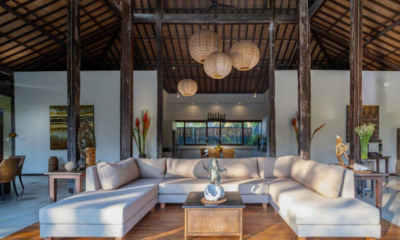 Villa Crystal Castle Living Room | Ubud, Bali