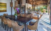 Villa Crystal Castle Classic Dining Table | Ubud, Bali
