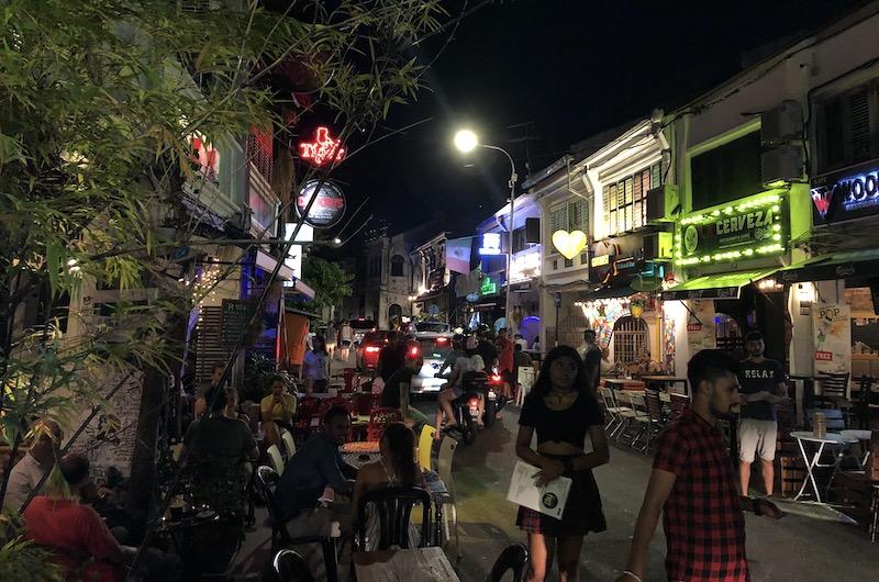 Night Stalls Penang   Malaysia