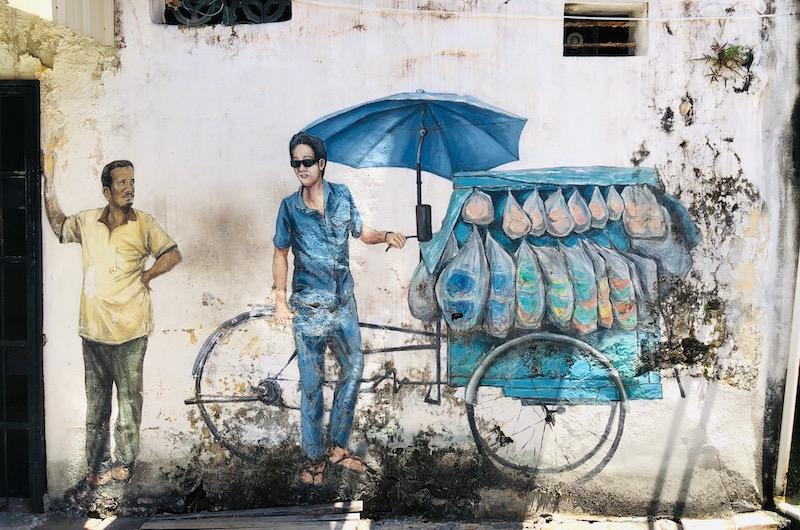 Street Art   Penang, Malaysia