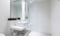 Birchwood Bathroom with Shower | Hirafu, Niseko
