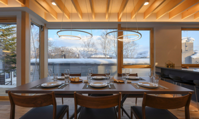 Hachiko Dining Table with Views | Hirafu, Niseko