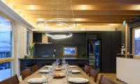 Hachiko Fancy Dining Table | Hirafu, Niseko