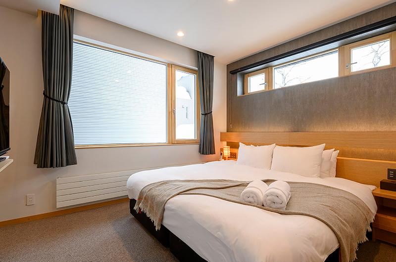 Hachiko Spacious Bedroom | Hirafu, Niseko
