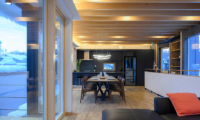 Hachiko Wooden Dining Table | Hirafu, Niseko