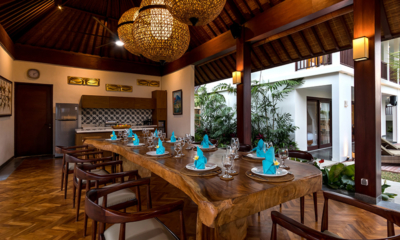 Villa Elite Tara Wooden Dining Table | Canggu, Bali