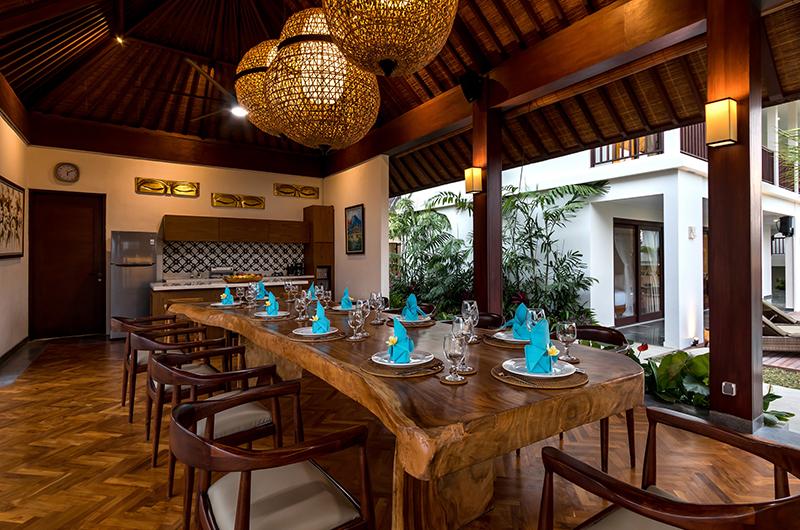 Villa Elite Tara Wooden Dining Table | Canggu, Bali