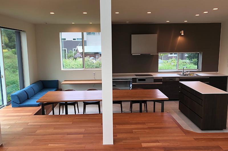 Bikei Chalet Living Room   Hakuba, Nagano