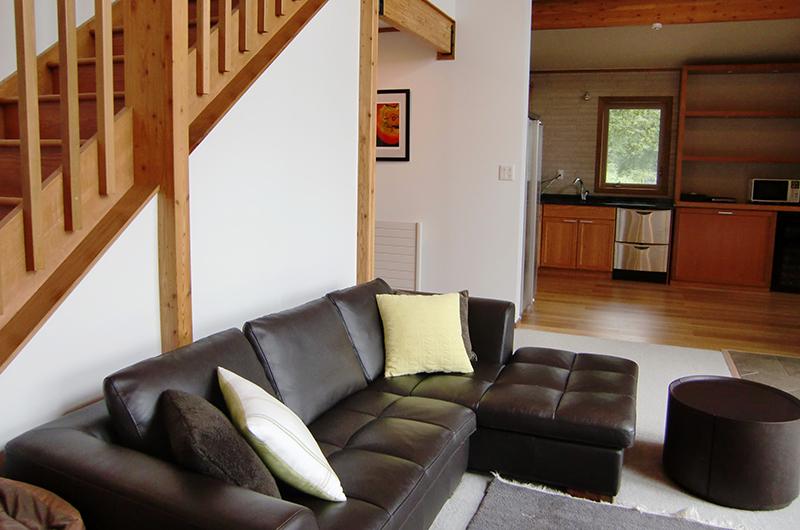 Creekside Living Room | Annupuri, Niseko