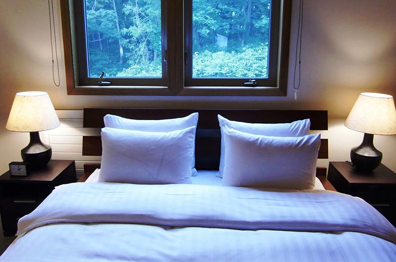 Creekside Guest Bedroom Pillow | Annupuri, Niseko