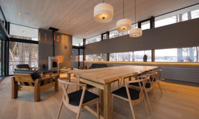 Hiyoku Dining Table | Hirafu, Niseko