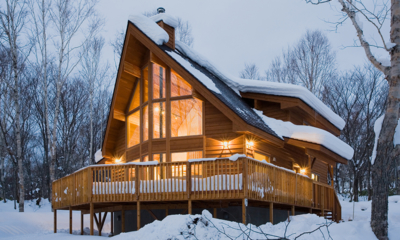 Shirakaba Exterior Covered with Snow | Annupuri, Niseko