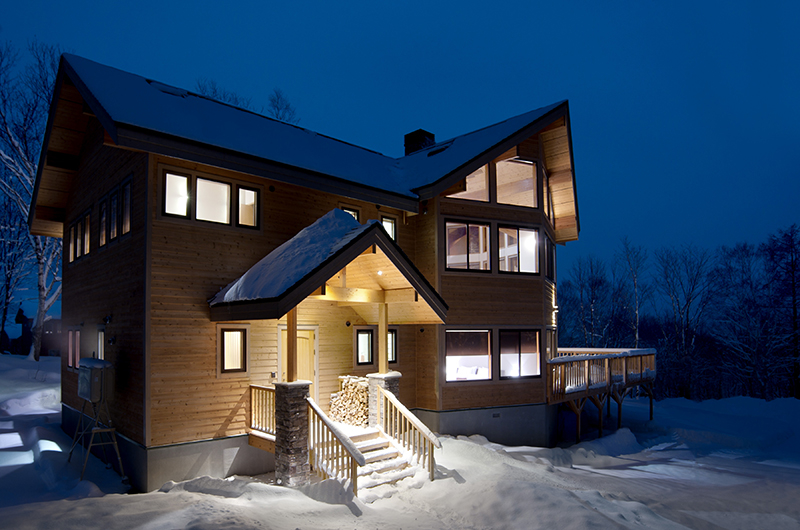 Starchase Night View Exterior | Annupuri, Niseko