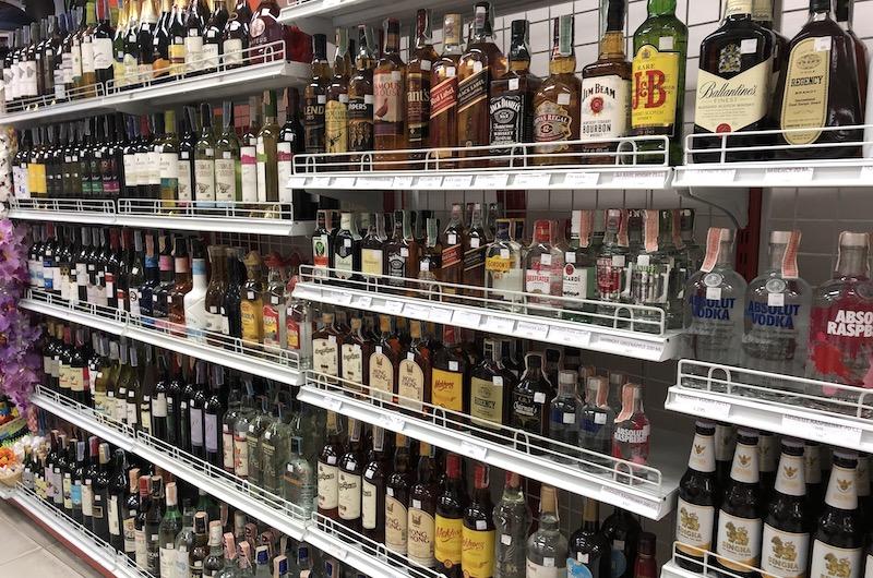 Downtown Downtown Shops - Alcohol   Kata Noi, Thailand