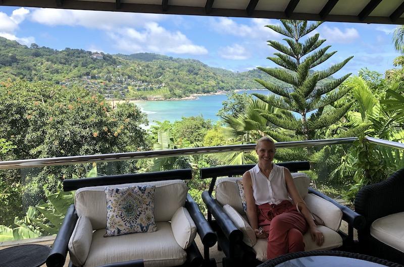 Villa Amanzi Balcony   Kata Noi, Thailand