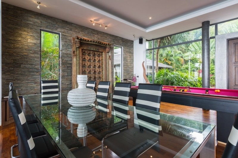 Baan View Talay Dining Table with Glass | Nathon, Koh Samui