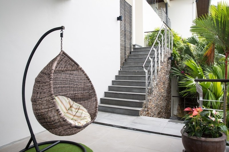 Baan View Talay Swing Chair | Nathon, Koh Samui