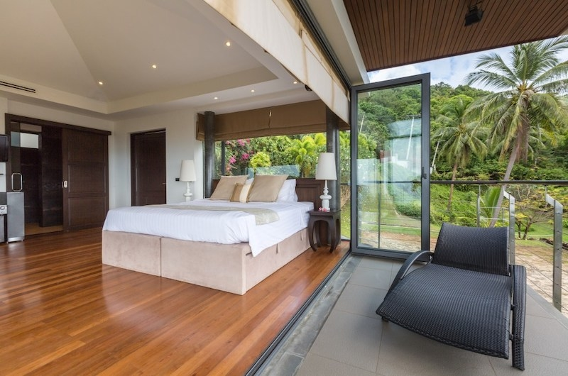 Baan View Talay Bedroom with Wooden Floor | Nathon, Koh Samui