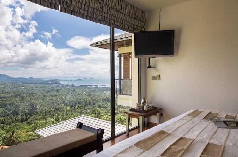 Baan View Talay Bedroom with TV | Nathon, Koh Samui