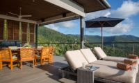 Baan View Talay Dining Table with Hills Views | Nathon, Koh Samui