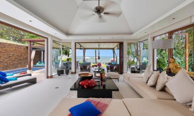 Villa Chi Samui Living Room | Bang Por, Koh Samui