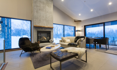 Seasons Two Living Room with Fire Place | Annupuri, Niseko