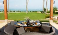 Villa Sundara Jivana Sunken Dining Table | Natai, Phang Nga