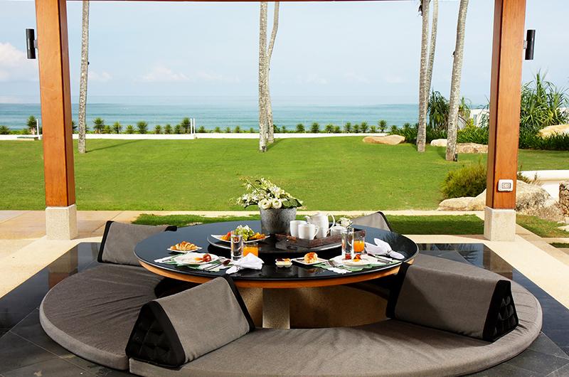 Villa Sundara Jivana Sunken Dining Table   Natai, Phang Nga