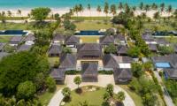 Villa Sundara Jivana Aerial View | Natai, Phang Nga