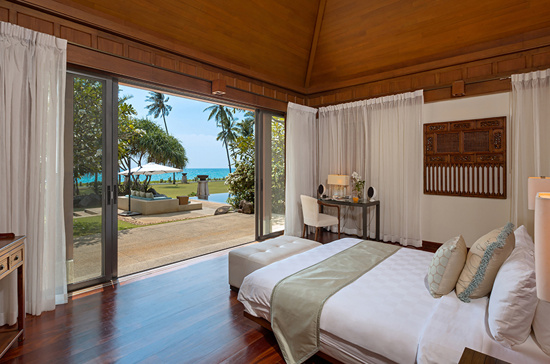 Villa Sundara Jivana Bedroom with Ocean View   Natai, Phang Nga