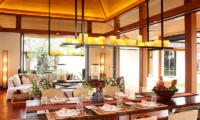 Villa Sundara Jivana Wooden Dining Table | Natai, Phang Nga