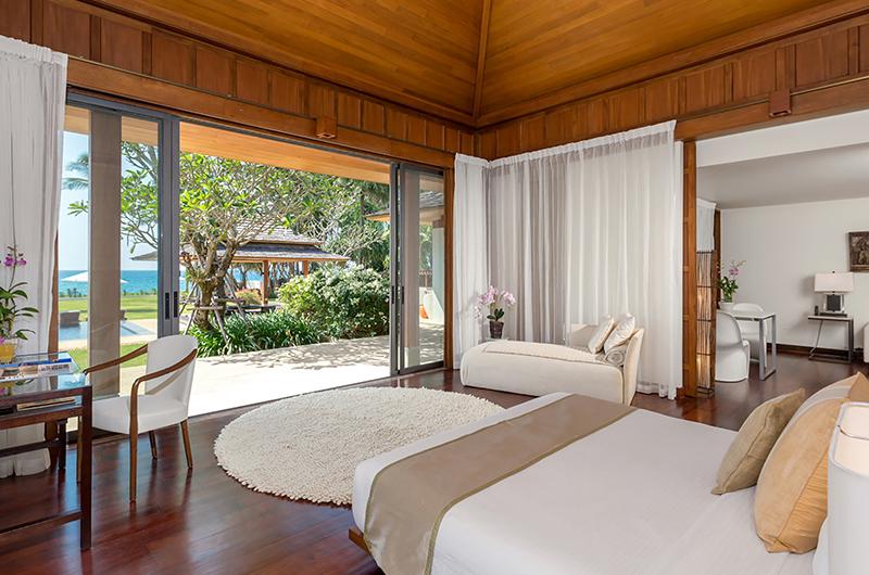 Villa Sundara Jivana Bedroom with Wooden Floor | Natai, Phang Nga
