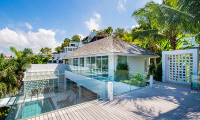 Villa Borimas Upper Floor Deck | Surin, Phuket
