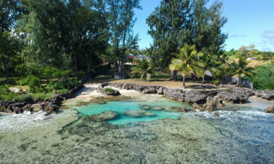 Tropical Haven Rock Pool | Efate, Vanuatu