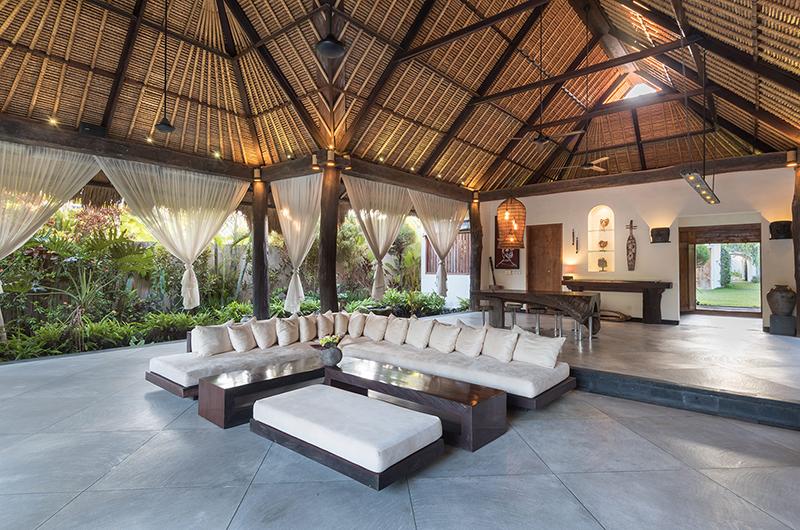 The Villas Ku Besar Living Room   Seminyak, Bali