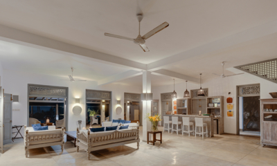 Bellini Blue Living Room and Kitchen | Unawatuna, Sri Lanka