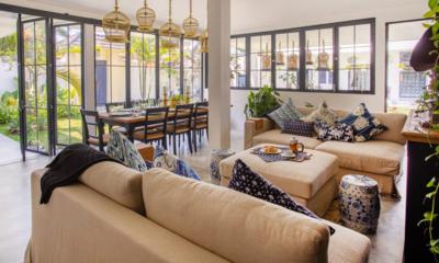 Villa Pintu Biru Living Room | Seminyak, Bali