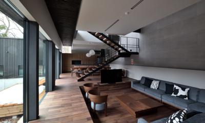 Nivia Spacious Living Room   Hakuba, Nagano