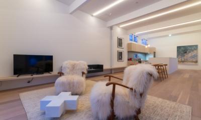 Chalet W Living Room | Hirafu, Niseko